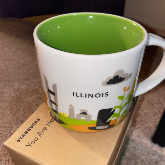 Starbucks You Are Here Illinois Mug